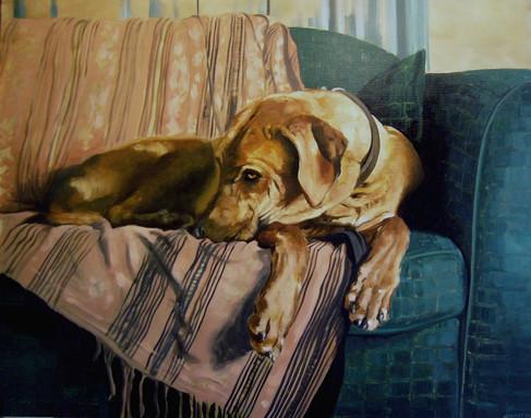 oil on canvas, 91x76cm, 2004.