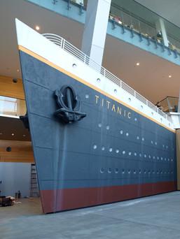 Titanic exhibition 2010