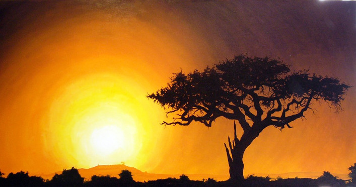 Commissioned oil on canvas, 122x61cm, 2006