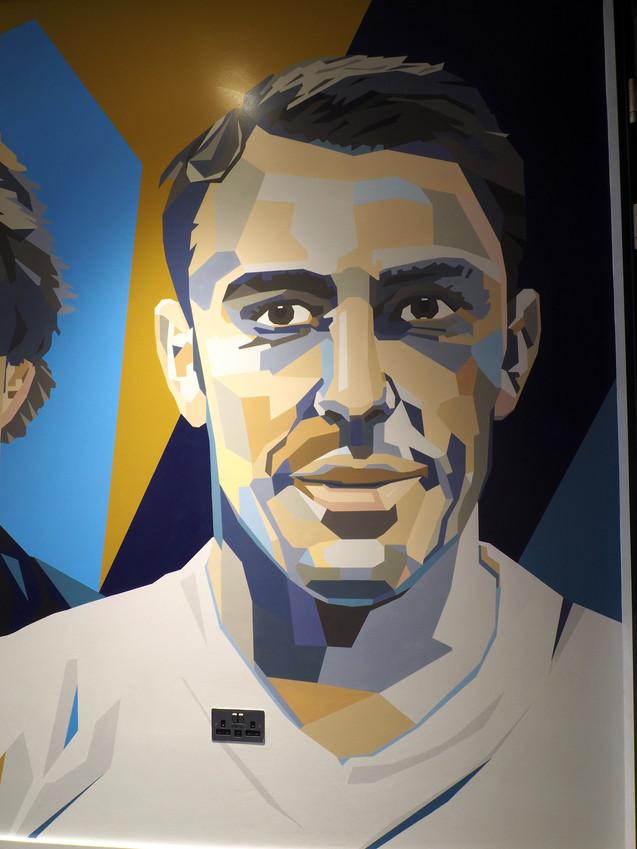 spurs legends mural