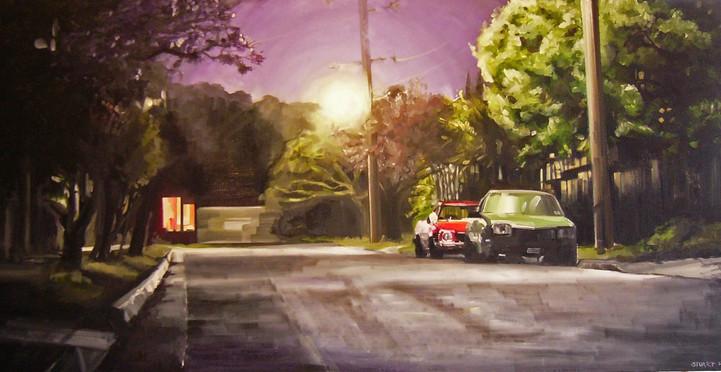 Acrylic on canvas, 122x61cm, 2006.