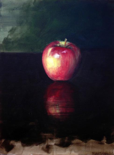 30x40cm, oil on canvas, 2004.