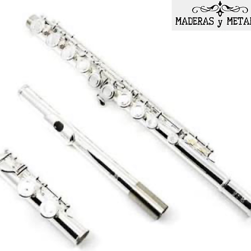 Flauta Traversa Eastman EFL 210 Plateada