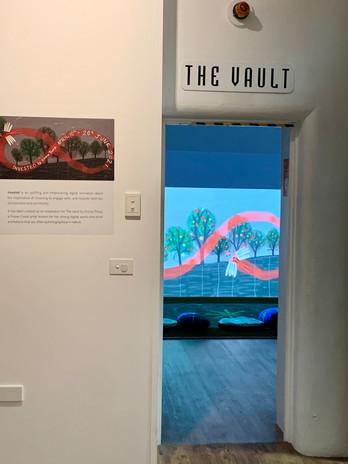 The vault gallery at Bundaberg Regional Gallery.