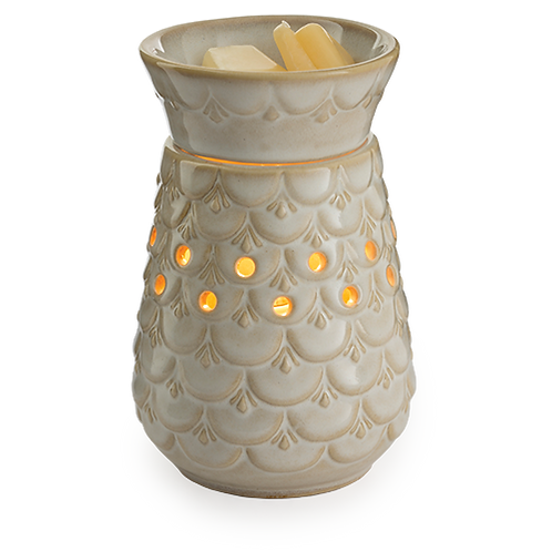 Scalloped Vase