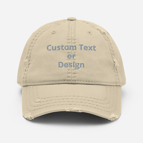 Distressed Hat - 4 colors