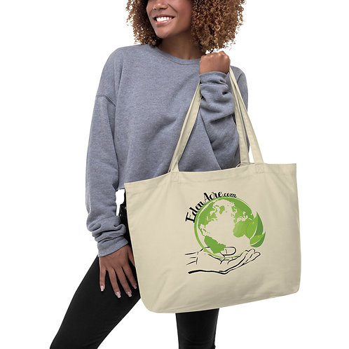 Large Eden Acre Eco Tote Bag