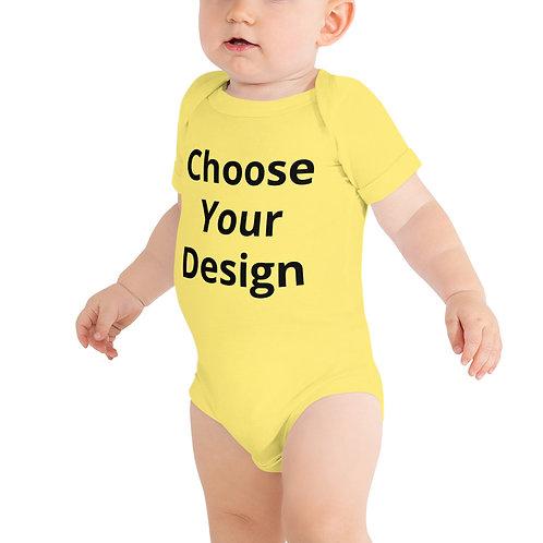 Baby Onesie -  4 sizes- 7 colors