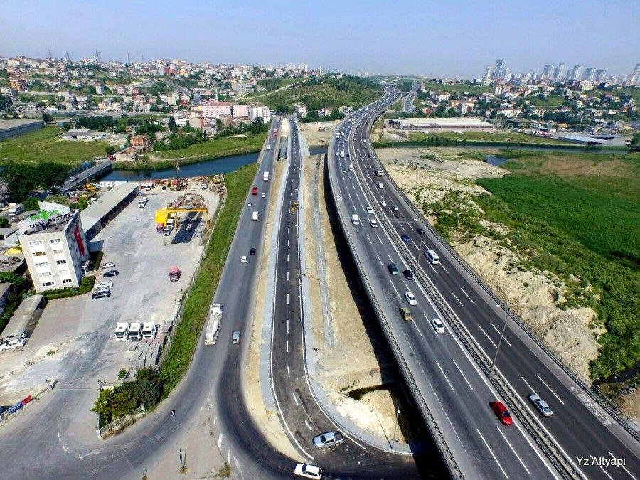 Altınşehir Azatlı Çelik Köprü İnşaatı