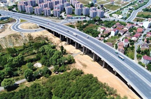 Arnavutköy Viyadükleri ve Bağlantı Yolları İnşaatı