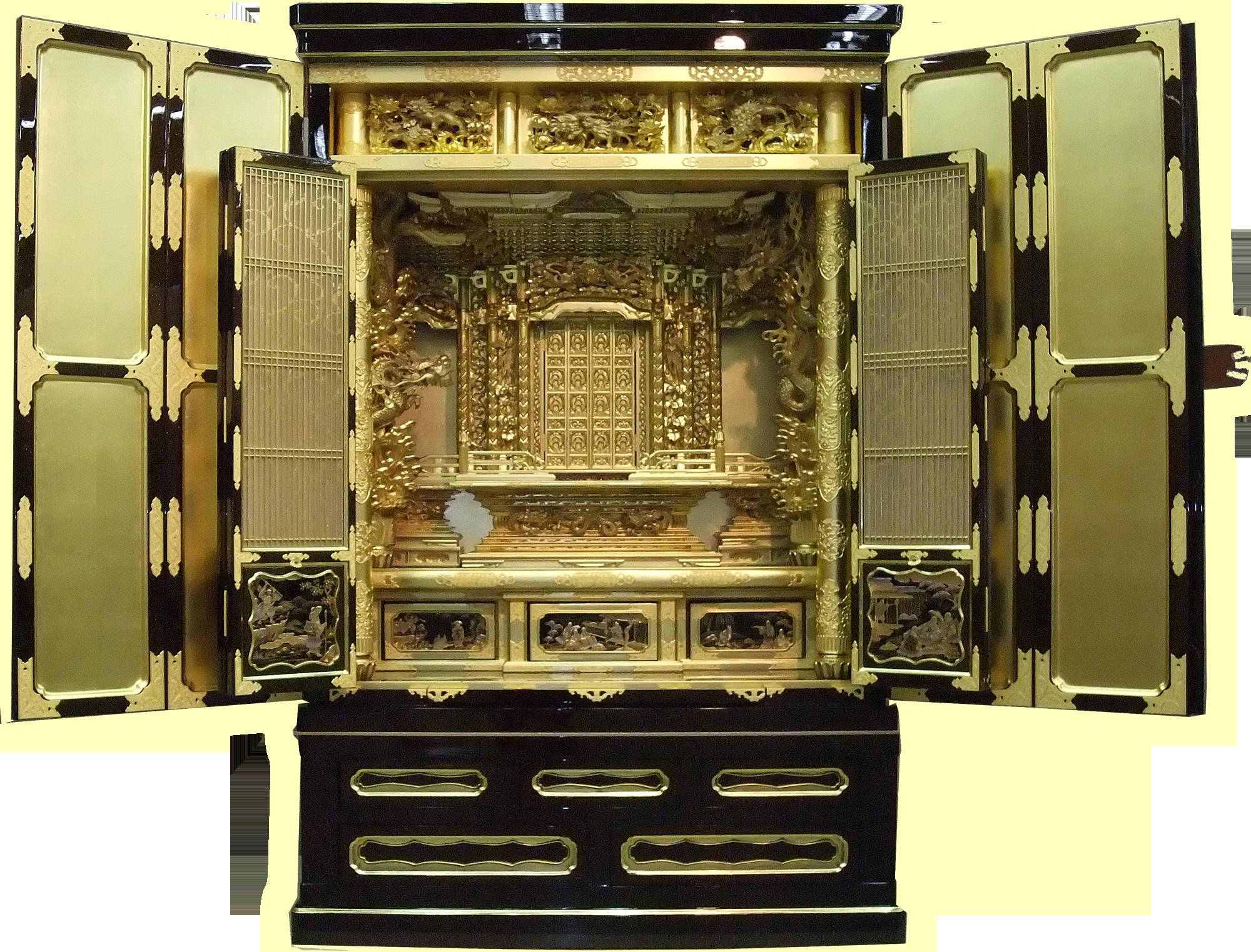 日和堂オリジナル仏壇新調