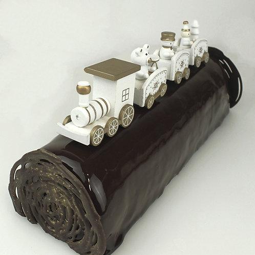 La Bûche chocolat praliné
