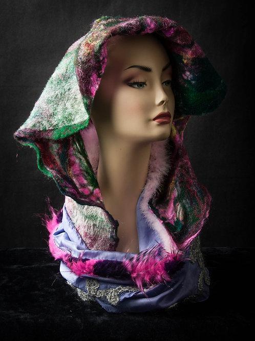 Silk and Wool Hoodie