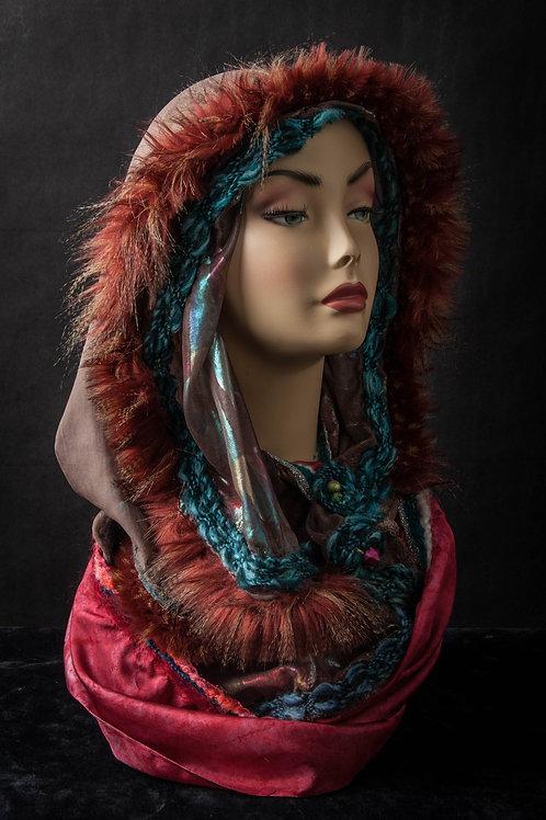 Silk and Fur Hoodie