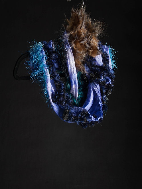 Silk Habotai Infinity Scarf
