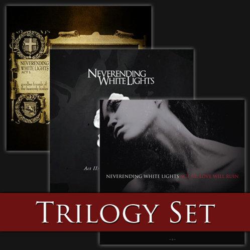 Autographed Trilogy CD Set of Acts 1, 2 & 3