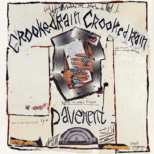 Pavement - Crooked Rain, Crooked Rain LP Released 08/01/21