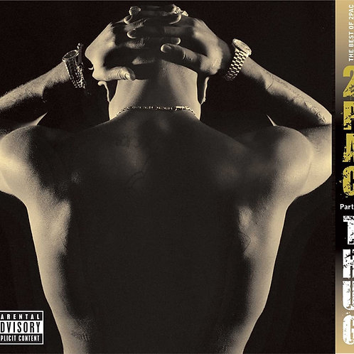 2Pac - The Best Of Part 1: Thug - Double Vinyl LP Released 16/07/21