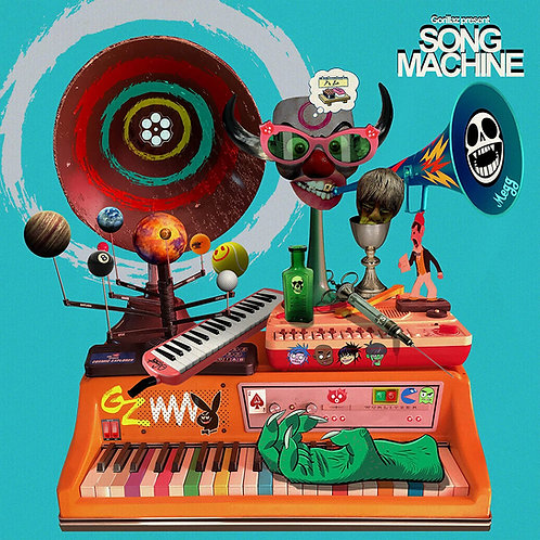Gorillaz - Song Machine: Season One - Strange Timez LP Released 23/10/20