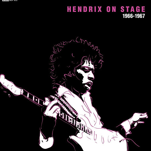 "Jimi Hendrix - Hendrix On Stage 66-67 7"" Released 30/08/19"