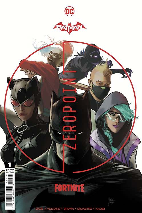 BATMAN FORTNITE #1 (THIRD PRINT) + CODE