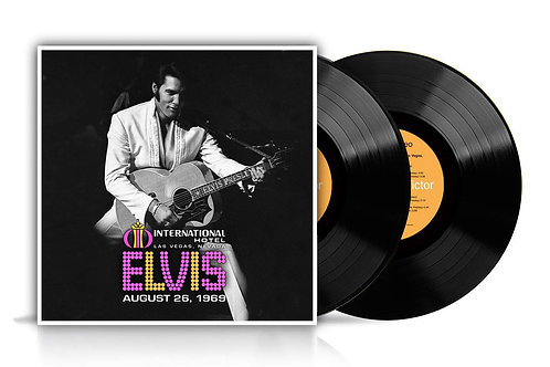 Elvis Presley - Live In Las Vegas, 1969 LP Released 09/08/19