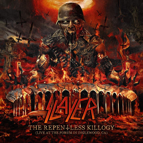 Slayer - The Repentless Killogy - Live At The Forum CD Released 08/11/19