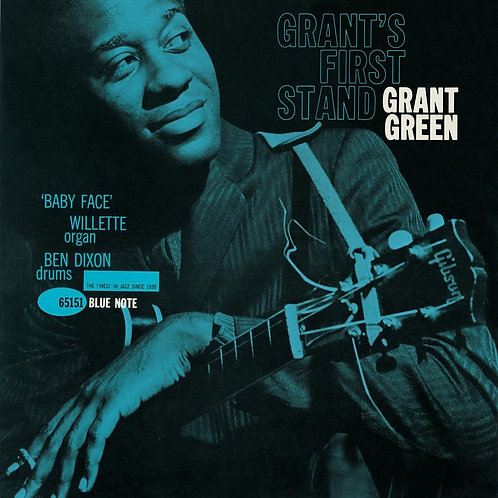 Grant Green - Grant's First Stand LP Released 14/06/19