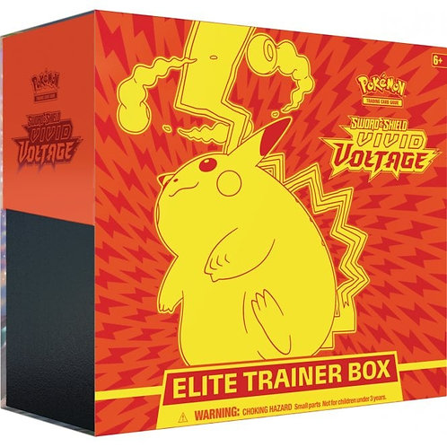 POKEMON TCG VIVID VOLTAGE ELITE TRAINER BOX