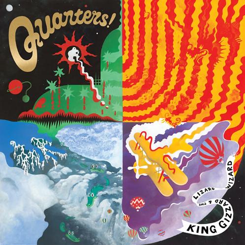 King Gizzard & The Lizard Wizard - Quarters! LP #LRS