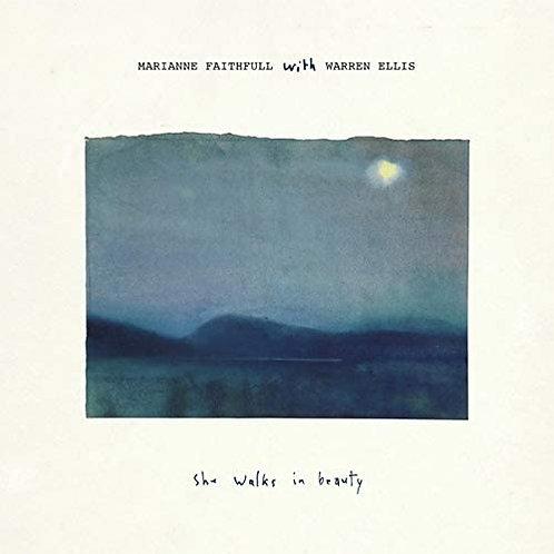 Marianne Faithfull With Warren Ellis - She Walks In Beauty CD Released 30/04/21