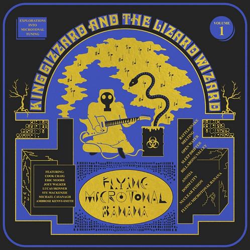 King Gizzard & The Lizard Wizard - Flying Microtonal Banana LP #LRS