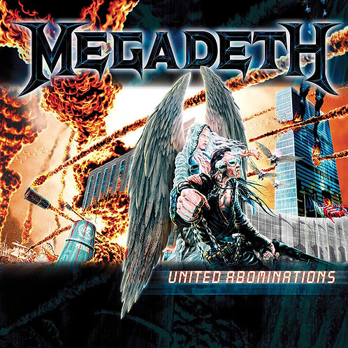 Megadeth - United Abominations LP Released 26/07/19