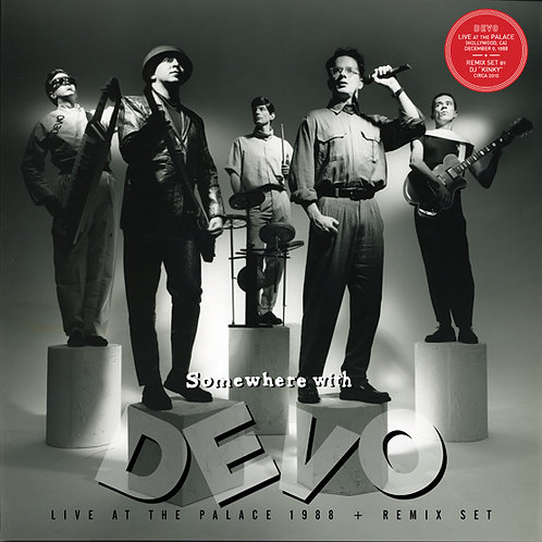 Devo - Somewhere With Devo - Live At The Palace 1988 - Remix Set LP