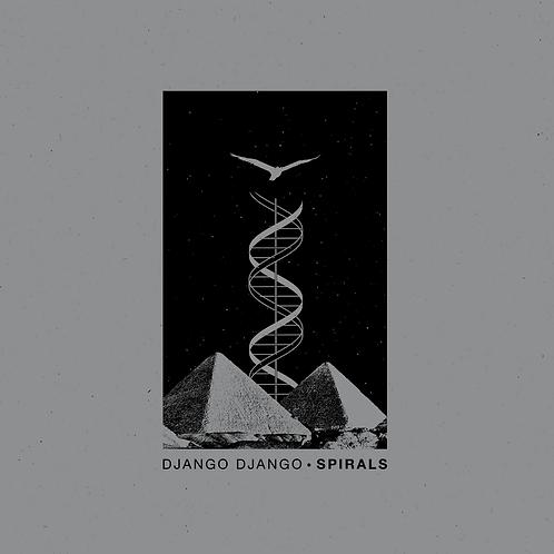 "Django Django - Spirals 10"" Single Released 11/09/20"