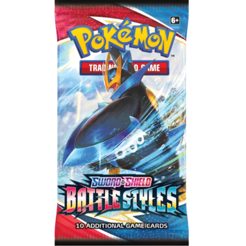 POKEMON BATTLE STYLES SINGLE BOOSTER PACK