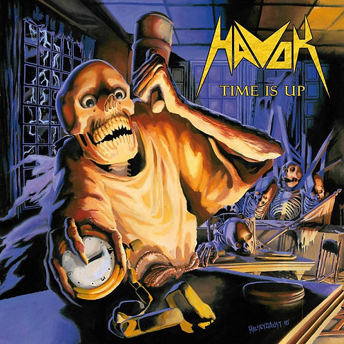 Havok - Time Is Up LP Released 16/10/20