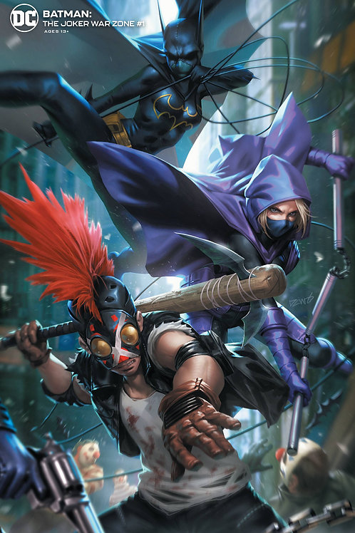 BATMAN THE JOKER WAR ZONE #1.       ONE SHOT