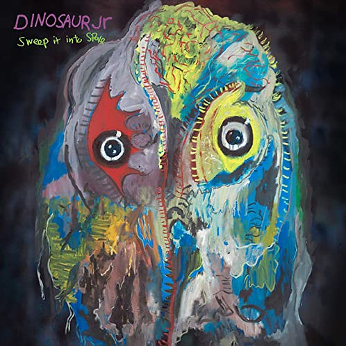 Dinosaur Jr - Sweep It Into Space - Purple Ripple Vinyl LP Released 23/04/21