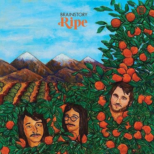 Brainstory - Ripe Clear Orange & Green Splatter Vinyl LP Released 25/06/21