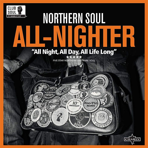 Various - Northern Soul All-Nighter LP Released 26/07/19