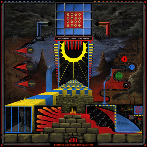 King Gizzard & The Lizard Wizard - Polygondwanaland LP #LRS