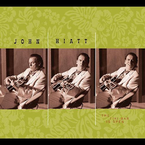 John Hiatt - The Tiki Bar Is Open LP Released 20/11/20