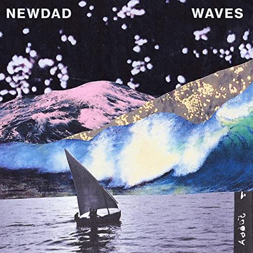 "NewDad - Waves EP - Clear Vinyl 12"" Released 09/04/21"