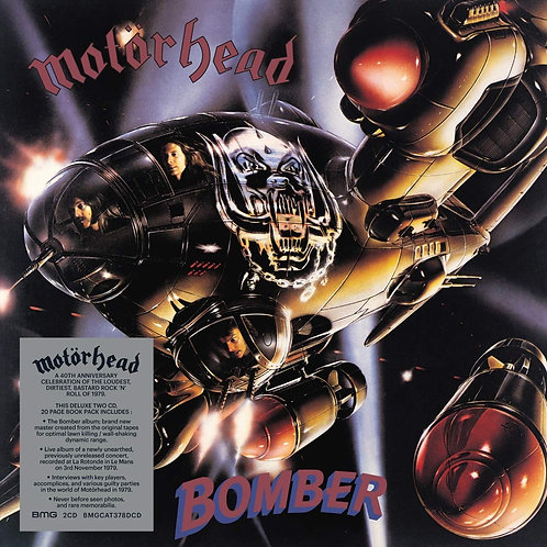 Motorhead - Bomber CD Released 25/10/19