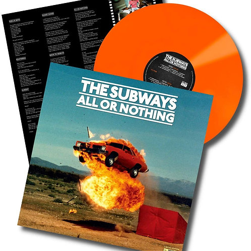 The Subways - All Or Nothing LP Released 27/03/20