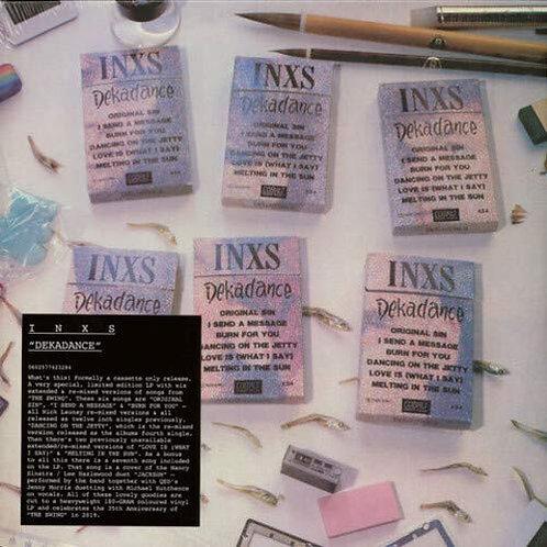 INXS - Dekadance LP Released 30/08/19