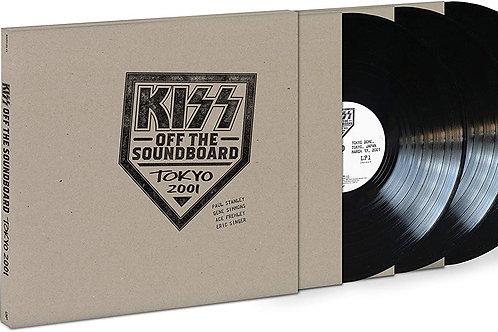 Kiss - Off The Soundboard - Tokyo 2001 - Triple LP Released 11/06/21