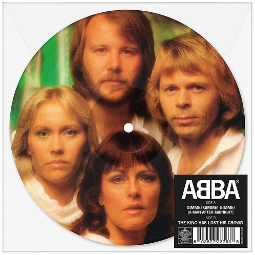 "ABBA Gimme Gimme Gimme (Picture Disc) 7"" Released 14/06/19"