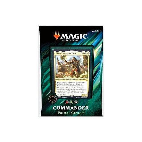 Primal Genesis Commander 2019